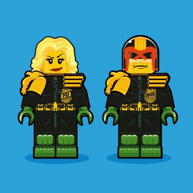 Illustrations of LEGO Minifigs 620x620