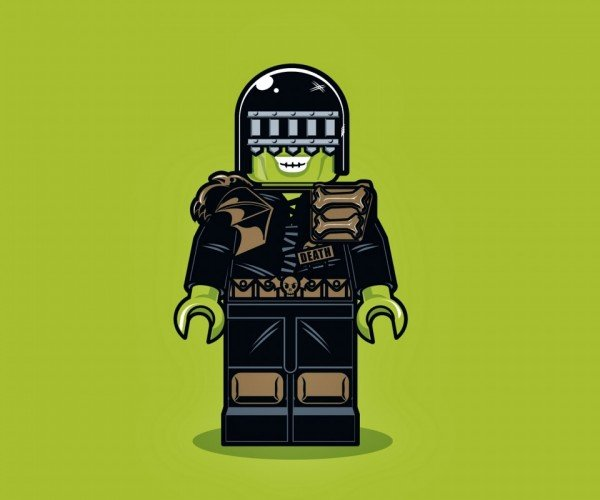 Illustrations of LEGO Minifigs1