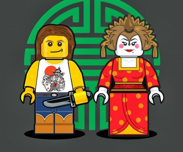 Illustrations of LEGO Minifigs5