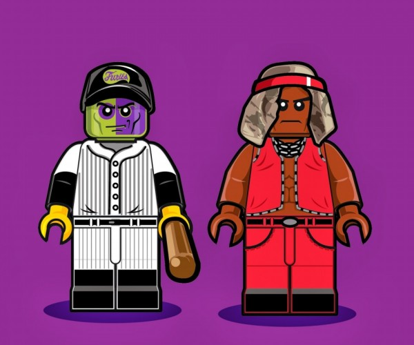 Illustrations of LEGO Minifigs6