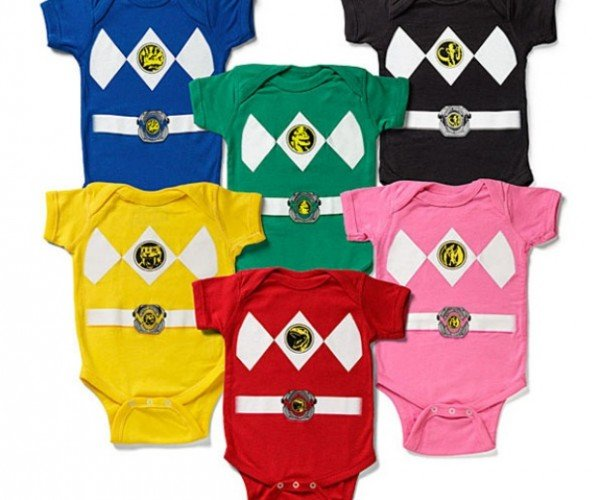 Power Ranger Onesies for Your Mighty, Morphin Poopin' Machines