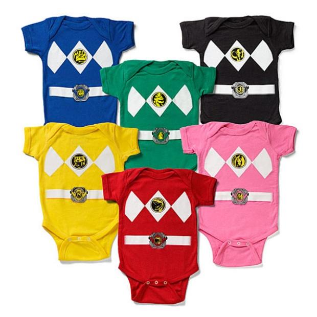 Power Ranger Onesies