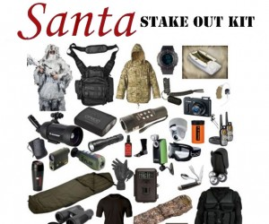 You'll Get Him This Year: $6,500 Santa Stake-out Kit Has Everything You Need