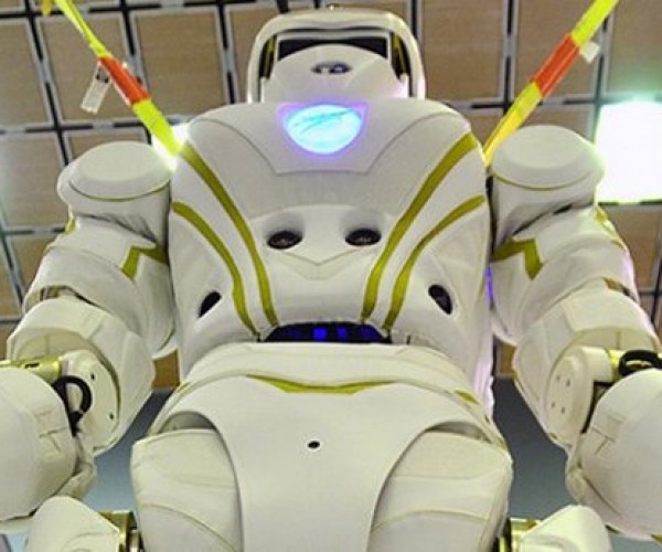 NASA's 6-foot-tall Valkyrie 1 Robot: Not Quite Human