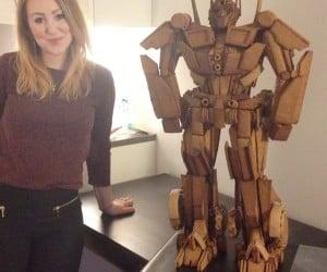 Gingerbread Optimus Prime: Sugar in Disguise