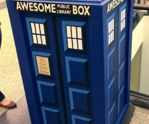 TARDIS Themed Awesome Box is Awesomer on the Inside