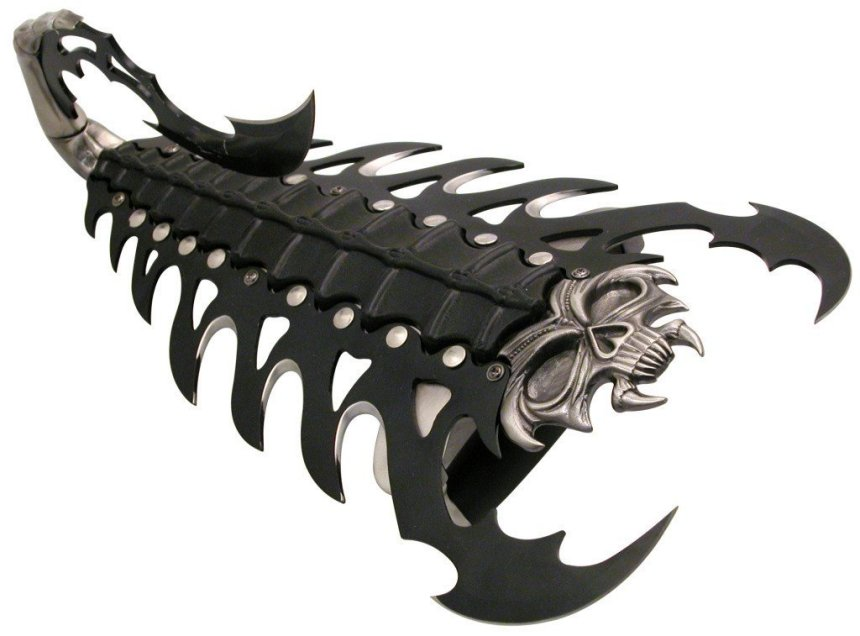 Fantasy Scorpion Arm Blade You Ll Tear Your Eye Out Kid