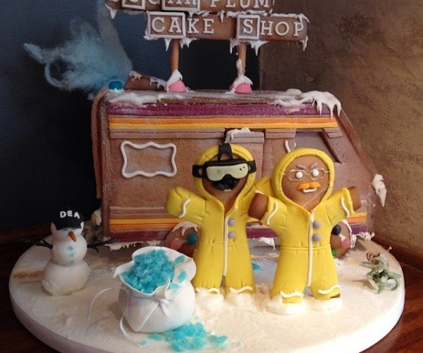 Merry Christ-meth: Breaking Bad Gingerbread House