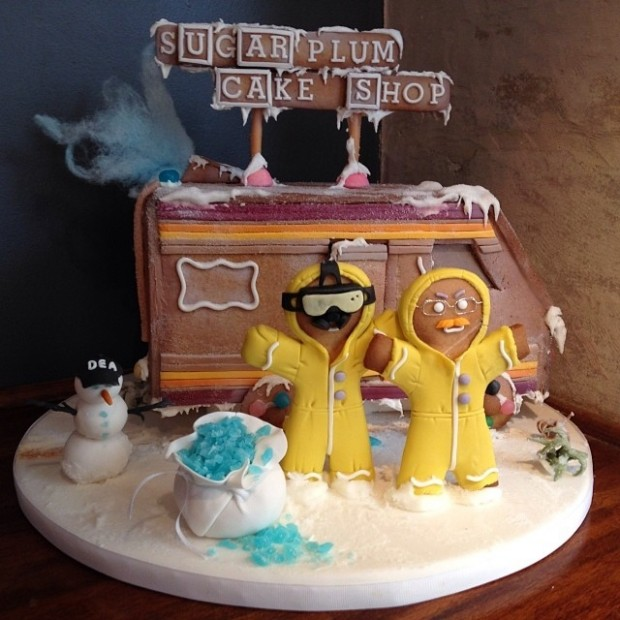 breaking bad gingerbread