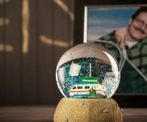 Breaking Bad Snow Globe: I'll Have a Blue Christmas without You