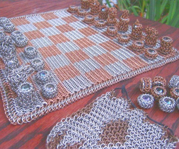 Chainmaille Chess Set Still Won't Protect Your King