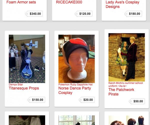 CosTrader Costume Buy & Sell Market: Website Merchant Cosplay