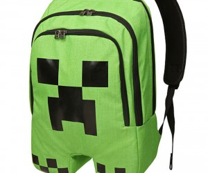 Minecraft Creeper Backpack Unfortunately Won't Blow up Your Homework