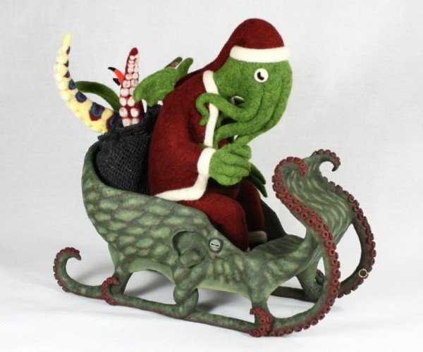 Santa Cthulhu: Deck the Halls with Boughs of Horror