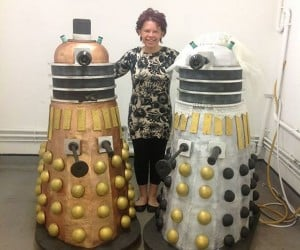 Life-sized Dalek Wedding Cakes: Doctor Chew