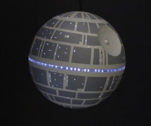Light-up Death Star LED Ornament: That's No Silver Bell