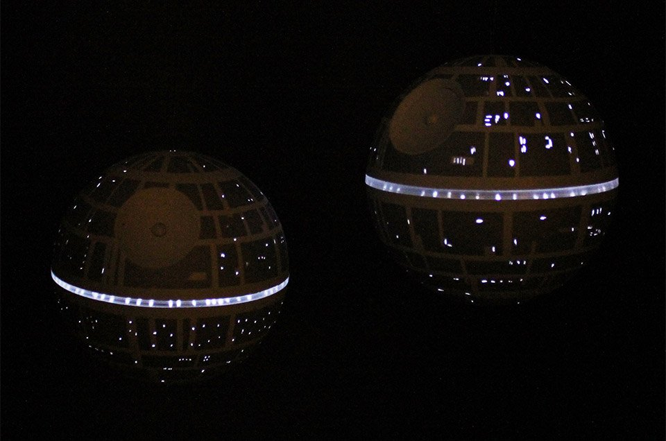 Light-up Death Star Led Ornament  That U0026 39 S No Silver Bell