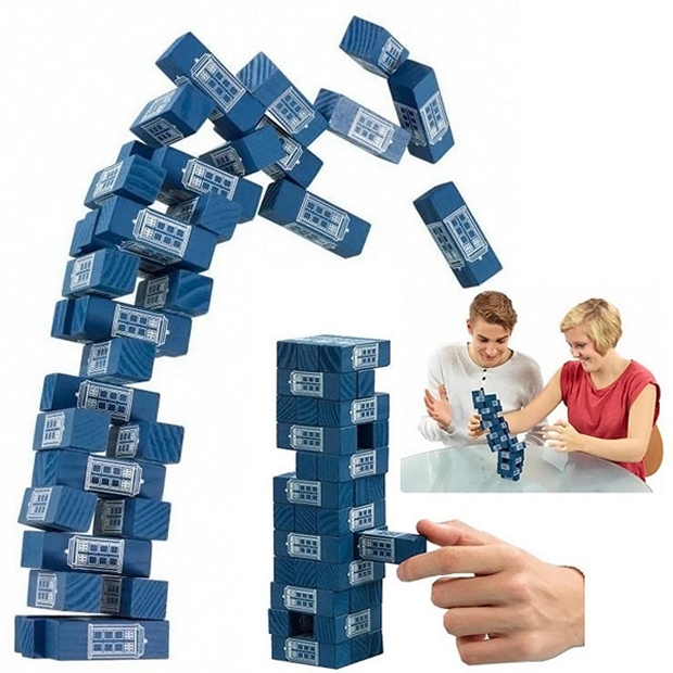 doctor who jenga
