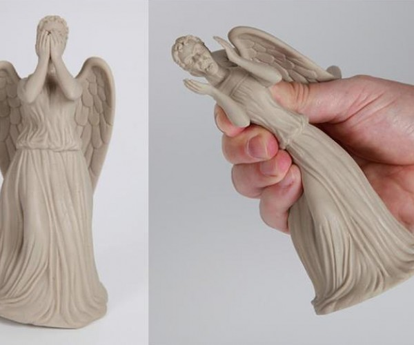 Doctor Who Weeping Angel Stress Toy: Whatever You Do, Don't Squeeze