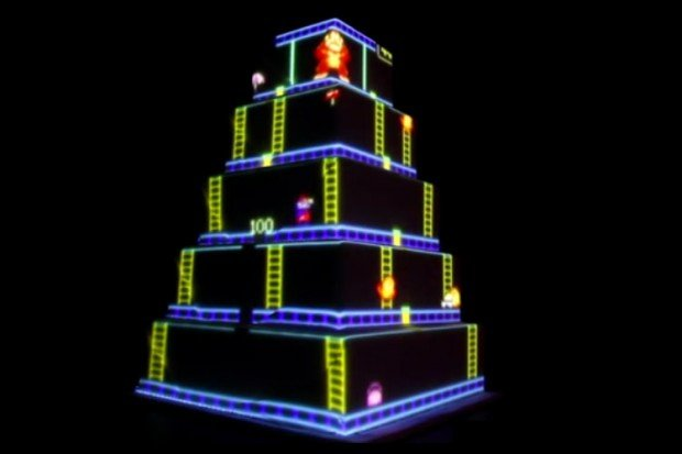 donkey kong wedding cake 620x413