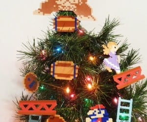 Donkey Kong Christmas Tree Decorations: Happy Nintendolidays