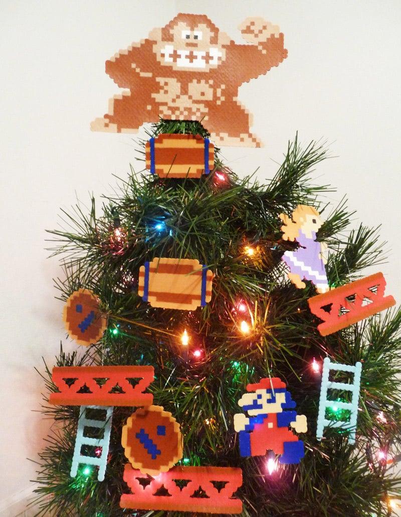 Donkey Kong Christmas Tree Decorations: Happy Nintendolidays - Technabob