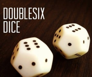Doublesix Dice: Rolls So Nice, It's Numbered One to Six Twice