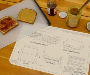 Food Blueprint Placemats: For Foodie Engineers