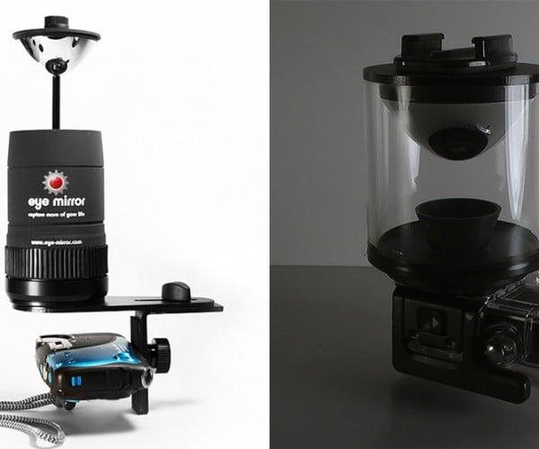 Eye Mirror Camera Add-on Lets You Take High Definition 360º Videos: 3D POV