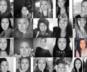 Feeling Cagey? Plasters Nicolas Cage's Mug on Random Instagram #Selfies