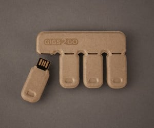 Gigs 2 Go Tear-Off USB Drives Now on Kickstarter: Pledge 2 Get