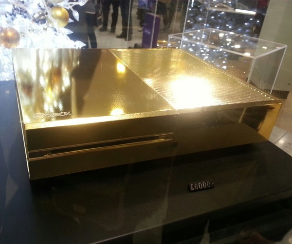24K Gold-plated Xbox One Hits Harrods