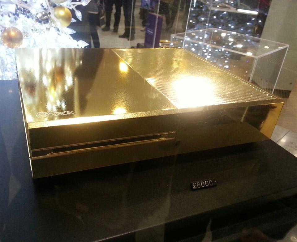 24K Gold-plated Xbox One Hits Harrods - Technabob
