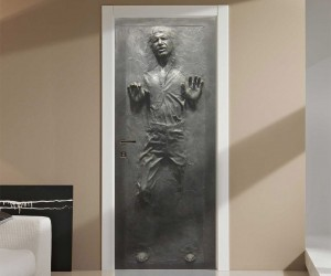 Han Solo Carbonite Door Decal is Perfect for a Hutt Kids Room