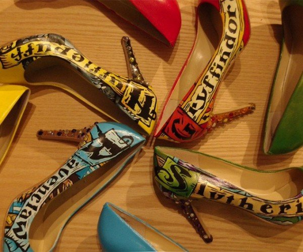 These Harry Potter Stilettos Look Enchanting