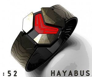 Hayabusa Watch Concept: How Master Chief Tells Time