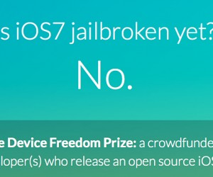 Crowdsourced Reward Offered for Open Source iOS 7 Jailbreak: Codestarter