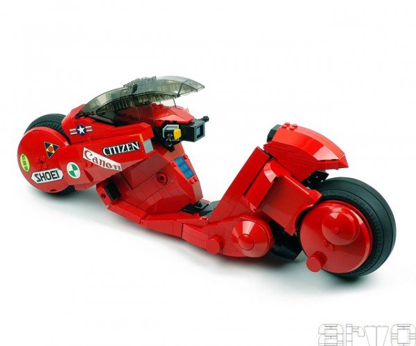 Kaneda S Motorcycle Lego Building