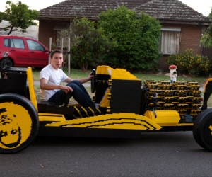 This Full-size LEGO Car is Powered by Air