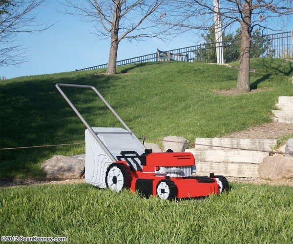 LEGO Lawnmower Mows My Mind