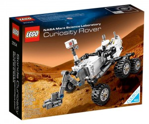 LEGO Mars Curiosity Rover Lands on New Year's Day