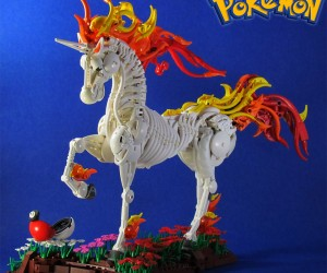 Amazing LEGO Rapidash Pokémon: Setting Fire to the Bricks