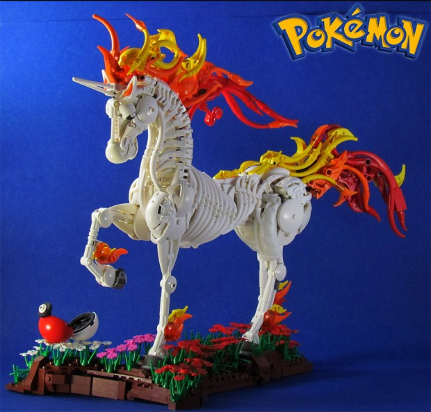 lego rapidash pokemon horse 620x594