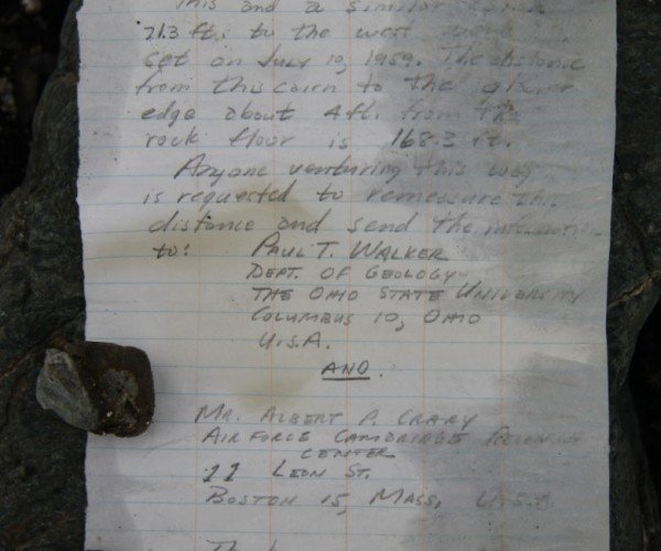 Researchers Find Message in a Bottle Tucked Away in Arctic Since 1959