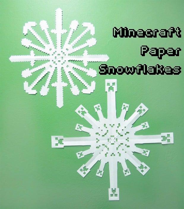 minecraft snowflakes 1 620x703