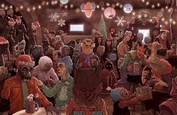 mos eisley cantina christmas 620x404