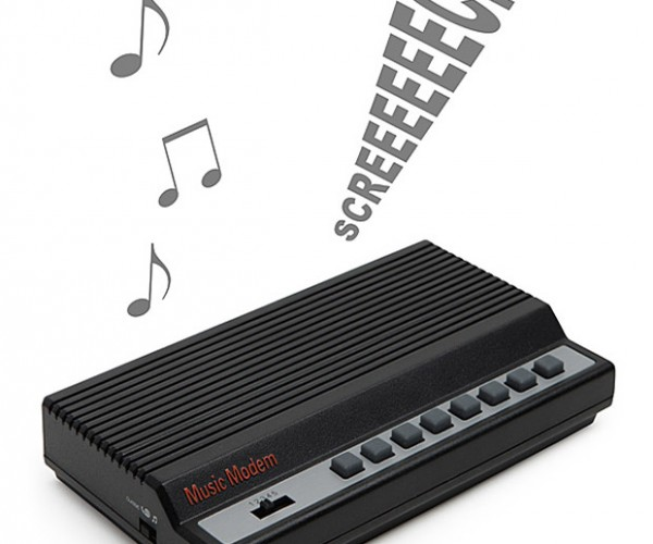 Music Modem Brings Back Squealy Memories of Dial-up