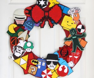 The Ultimate Geeky DIY Holiday Wreath