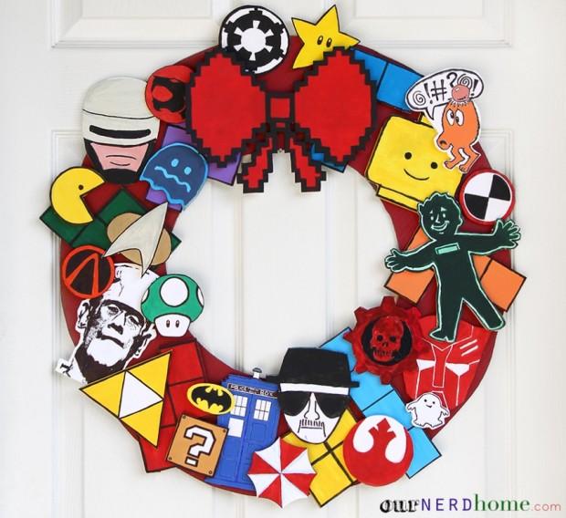 nerd wreath 620x568