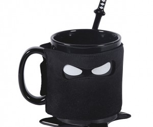 Ceramic Ninja Mug: Drink to Your Stealth!